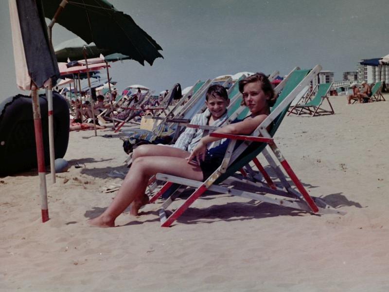 Bibione - Strand, 1965