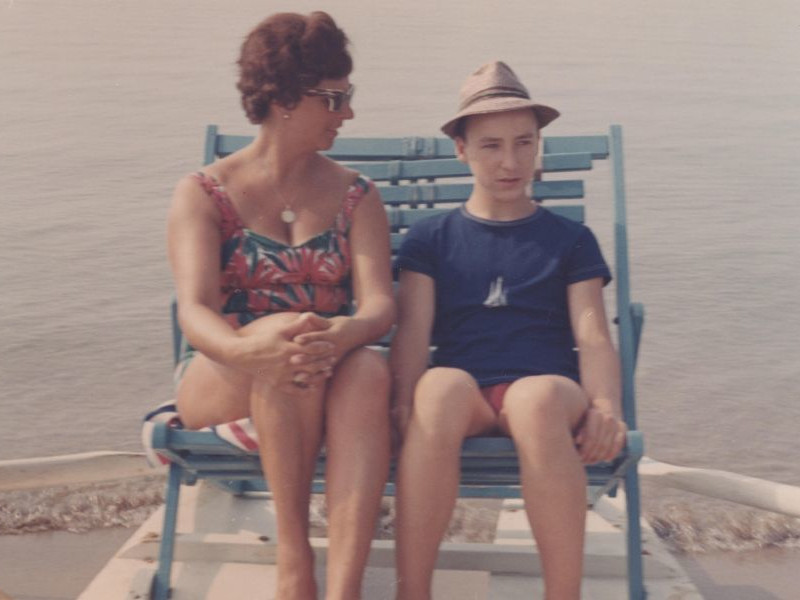 Bibione - Tretboot, 1964