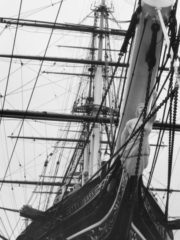Greenwich - Cutty Sark, 1969