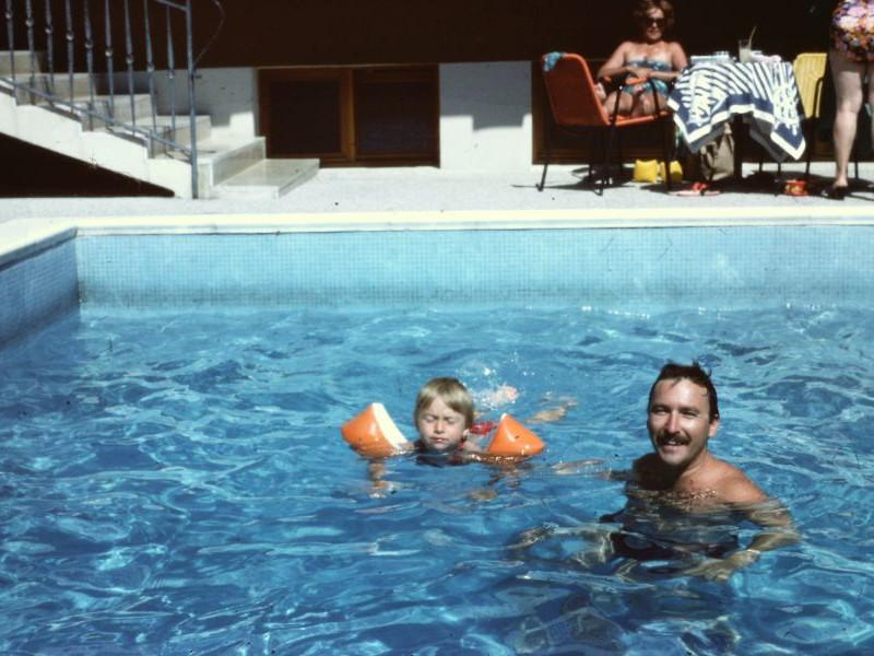 Hotel Eden - Pool, 1978