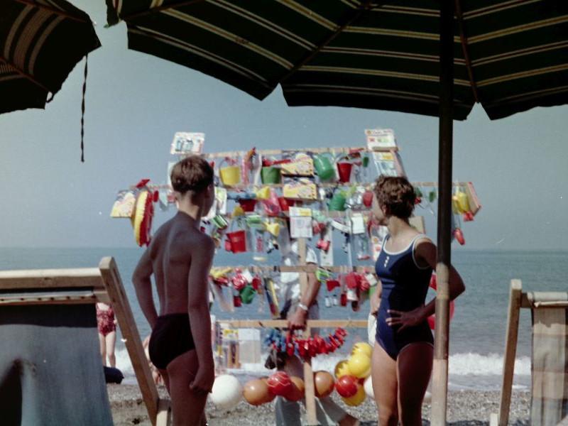 Strandverkäufer, 1963