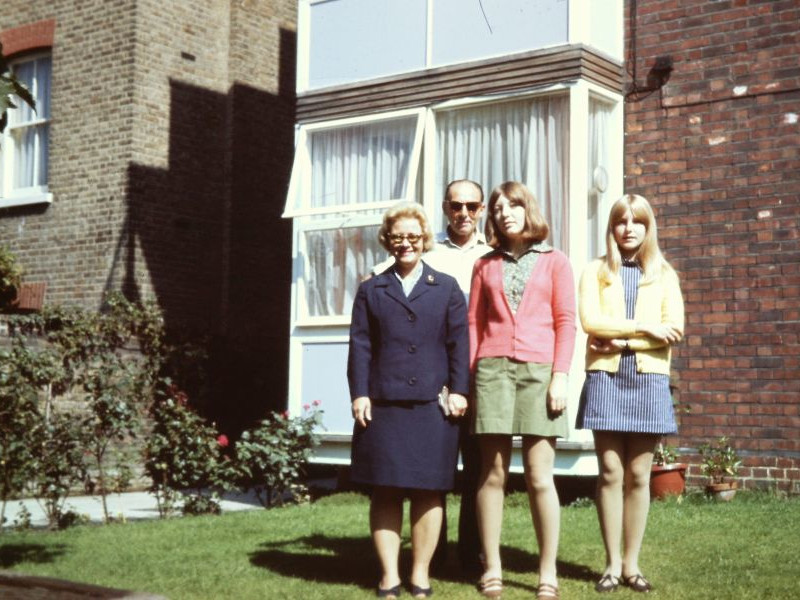 Mulberry Court, 1967