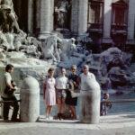 Rom - Fontana di Trevi, 1963