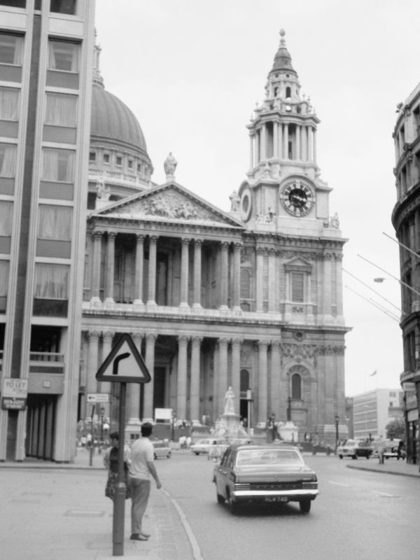 St. Pauls Cathedrale, 1969