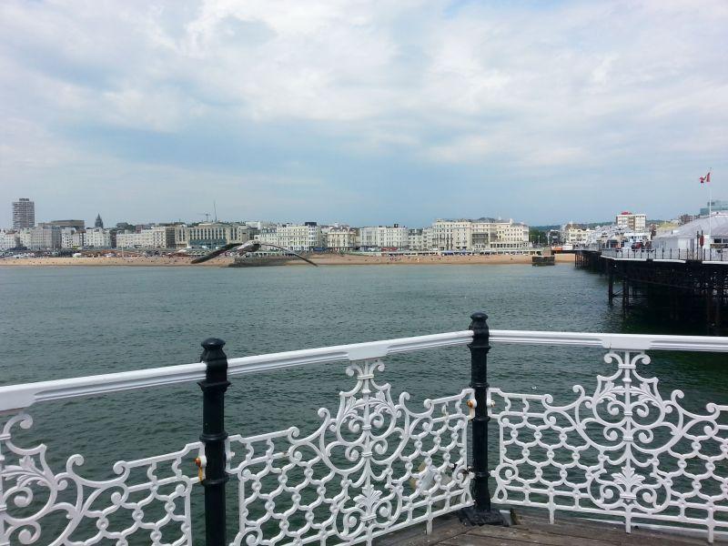 Blick vom 'Palace Pier'