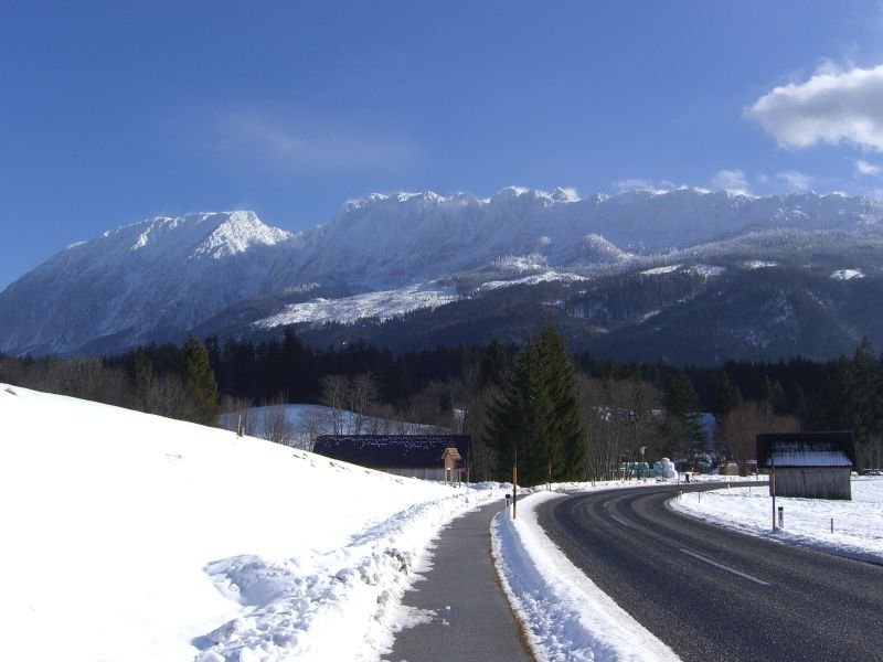 Hinunter nach Bad Mitterndorf