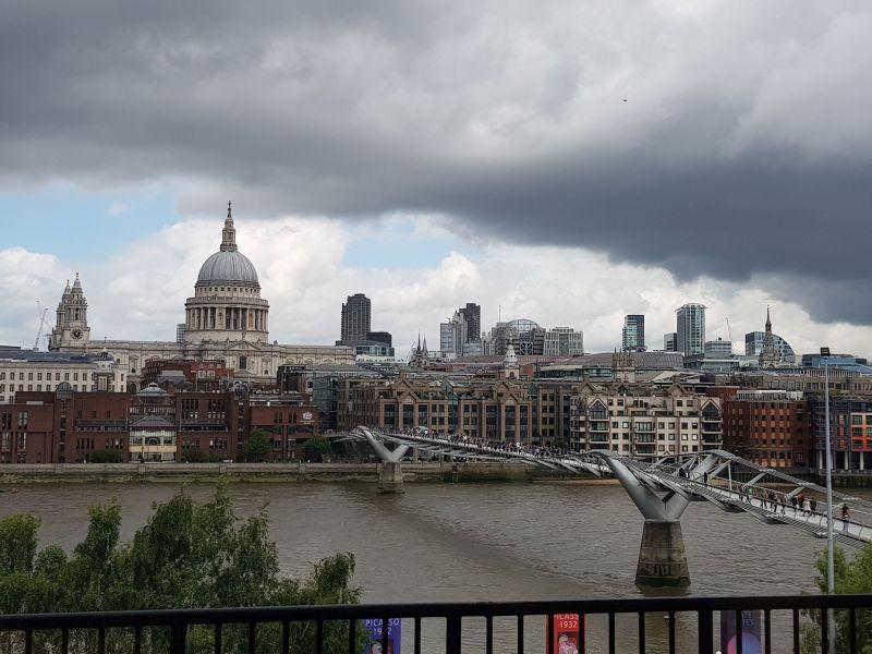 Ausblick von 'Tate Modern'