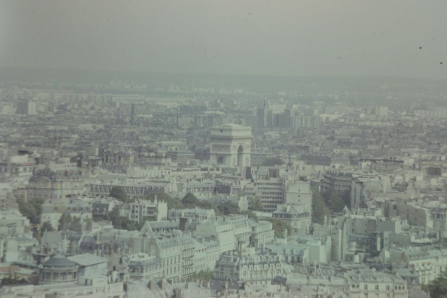 Blick vom 'Eiffelturm', 1973