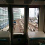 Mit 'DLR' nach 'Canary Wharfs' unterwegs (Fahrerlos)