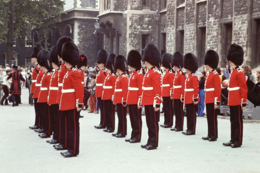Im Tower of London, 1973