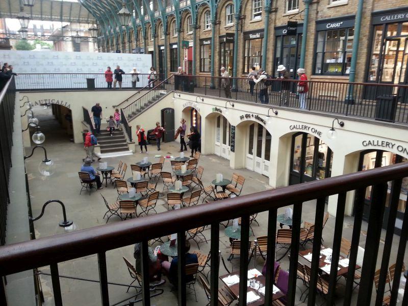 Covent Garden, Innenansicht