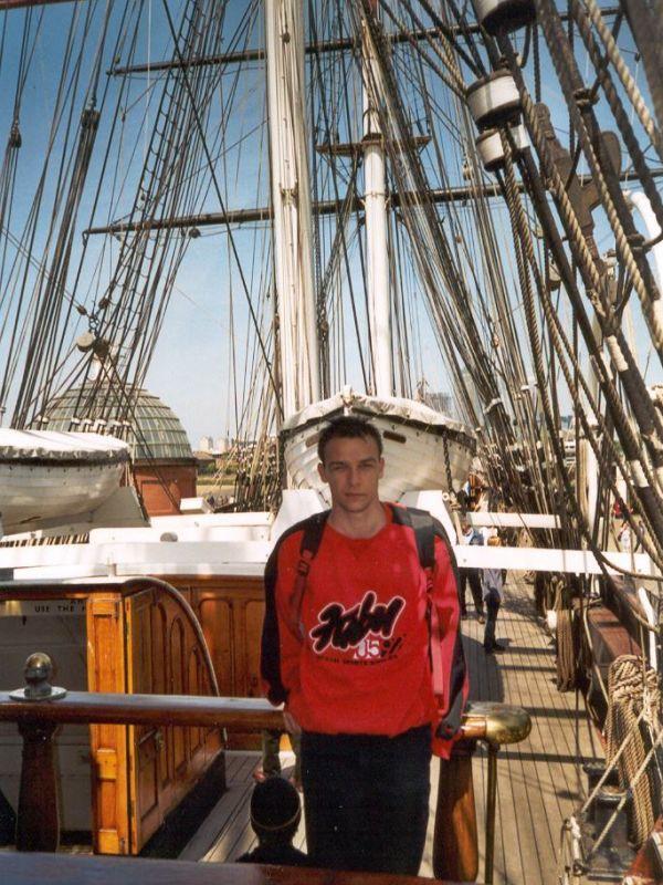 Auf der 'Cutty Sark' - Greenwich, 1998