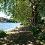 Von Kingston - die Themse entlang - nach Hause
