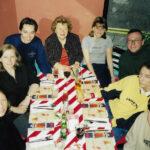 Familientreffen im 'Fridays', 1998