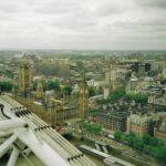 Blick vom 'London Eye', 1998