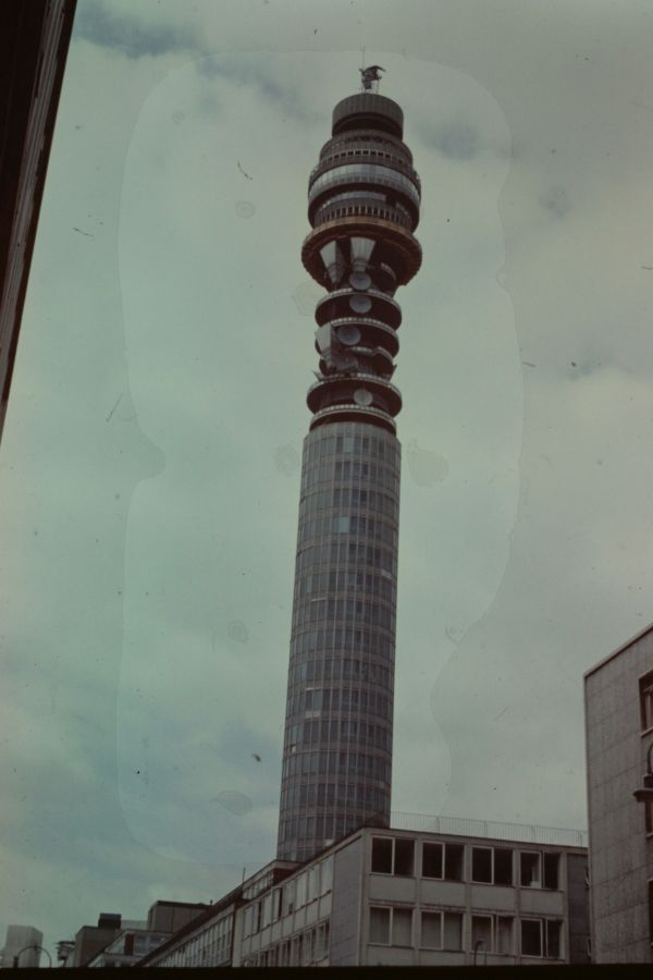 Post Office Tower, 1973