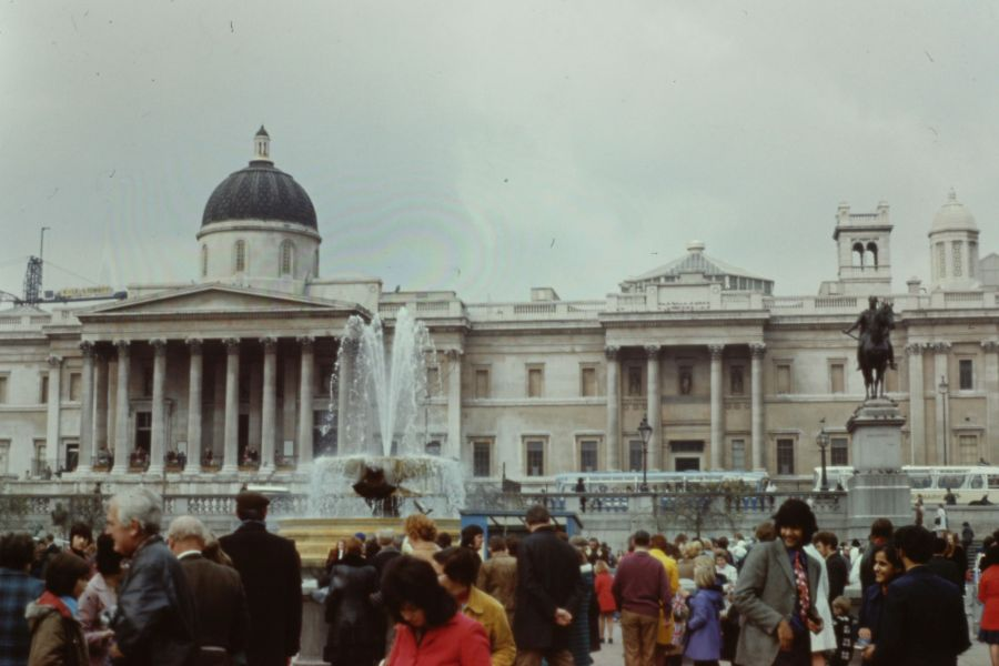 Trafalgar Square, 1973