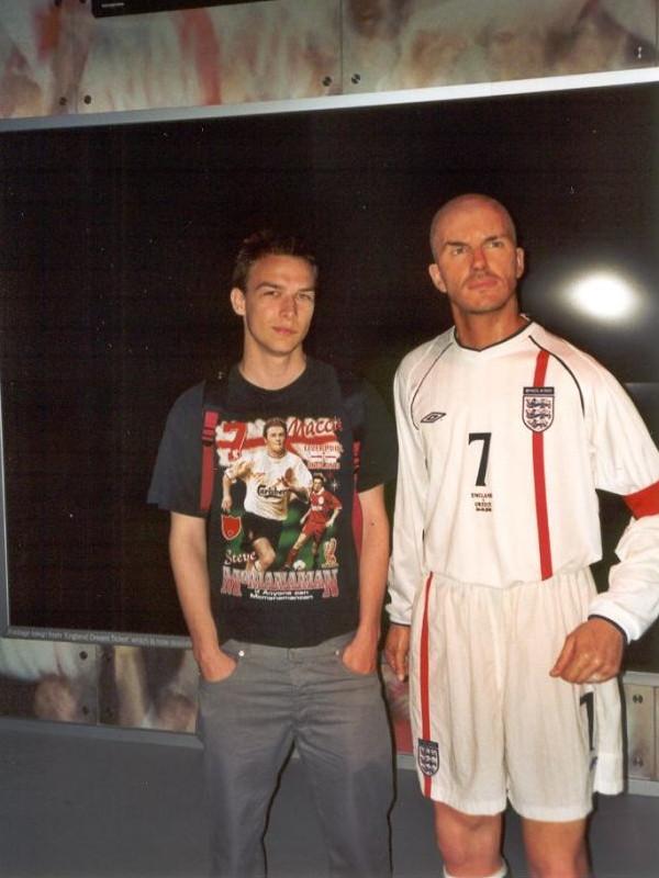 Tussaud - 'Beckham', 1998