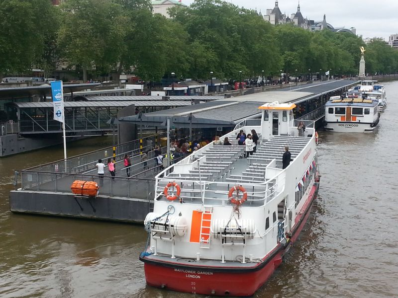 Westminster Pier - River Boats