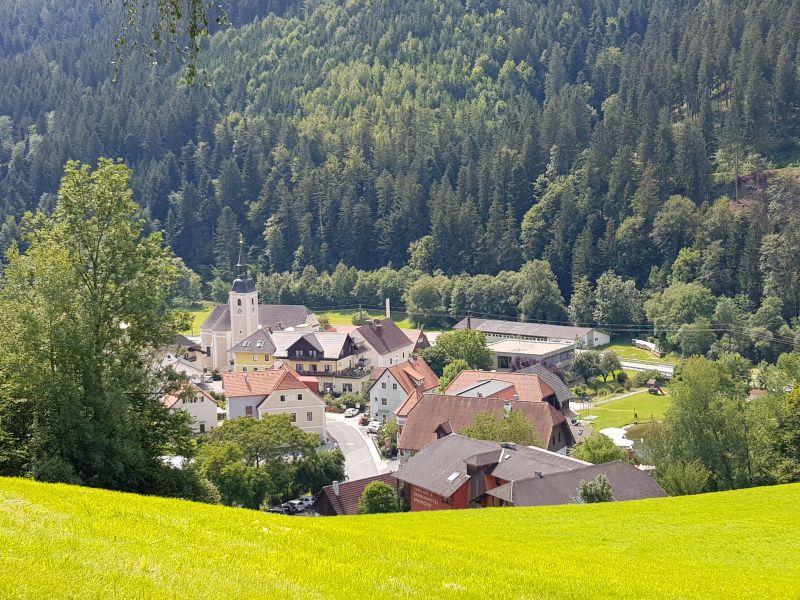 Anfang Juni - Mönichwald von oben